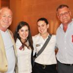 Jim McBride, Jennifer Schuster, and friends at REAF!
