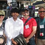 Christine, Santi, Stephen & John