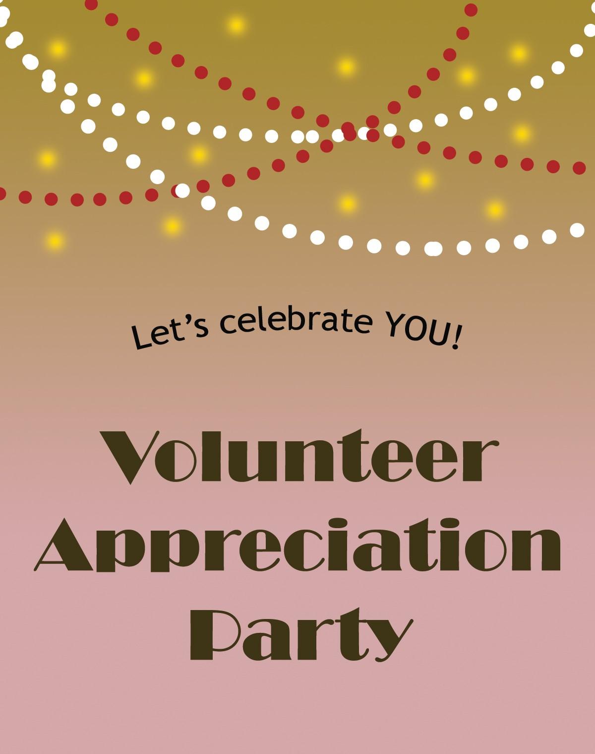 2018 Volunteer Appreciation Party