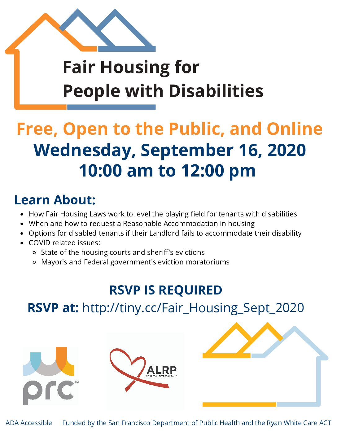 Free Presentation: Fair Housing for People with Disabilities