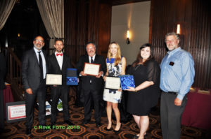 ALRP 2016 Honorees listed left to right: Ron Flynn, Okan Sengun, Jerome Fishkin, Andrea Fitanides, Caitlin May, and Bill Hirsh