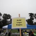 AIDS Walk Legal Eagles Sign