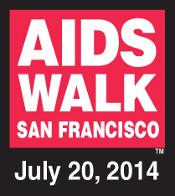 AIDSWALK 2014 Logo