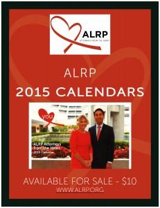 ALRP 2015 CALENDARS PROMO Sign