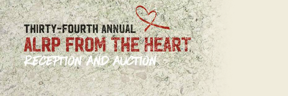 Tickets Now Available-ALRP 34th Annual Reception & Auction-Oct 18