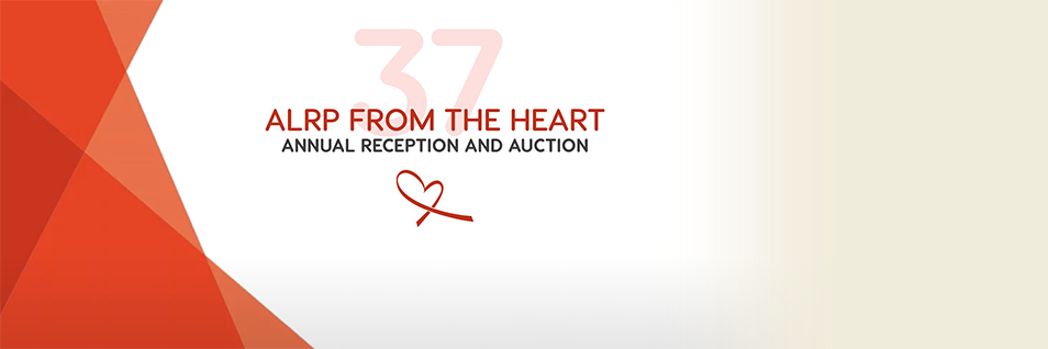 Join Us for the ALRP From the Heart 37th Annual Reception & Auction