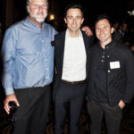 Bill Hirsh, Joe Gorman and his partner Jeff (L to R)