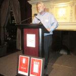 Bill Hirsh at the podium