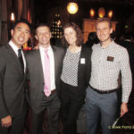 David Tsai, Jeff Jacobi, Amanda Schapel, and Jeff Dulgar (L to R)