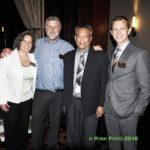 Emily Nugent, Bill Hirsh, Vince Cristosomo, and Vince Novak (L to R)