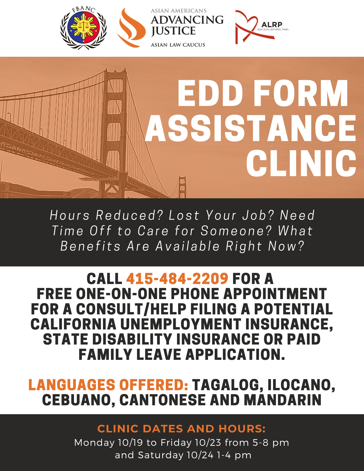 EDD Form Assistance Clinic