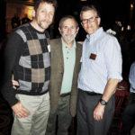 Glenn Gravlin, Carl Wolf, and Thompson Chambers (L to R)