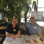 ALRP Office Manager Eric Bull and Chuck Adams
