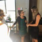 Amy Eskin and ALRP Volunteer Coordinator Hannah Center