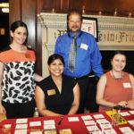 Jaime Rush, Zeenat Hassan, Ray Dolan and Alyssa Palatella at registration