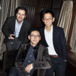 Jeff, Andy Chu and his husband Evan (L to R)