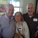 ALRP Director of Development Jim McBride, Beth Feingold and Bob Friedland