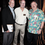 Jim McBride, Eric Bull, and Kirk Dalrymple from Yankee Clipper Travel Services (L to R)