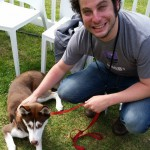 Joachim + puppy