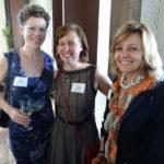 Julia Hoffman, ALRP Board Member Heidi Machen and Tina Leonardi