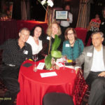 John Hoffman and partner Kimberly Hathaway, Angela, Mary Lou Hely, and Alan (L to R)