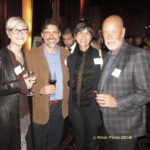 Lisa DiGiorgio-Haag, Joe Olivo, Beth Brandon, and Peter Brandon (L to R)