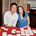 Rory McNea and Kim Shindel at registration