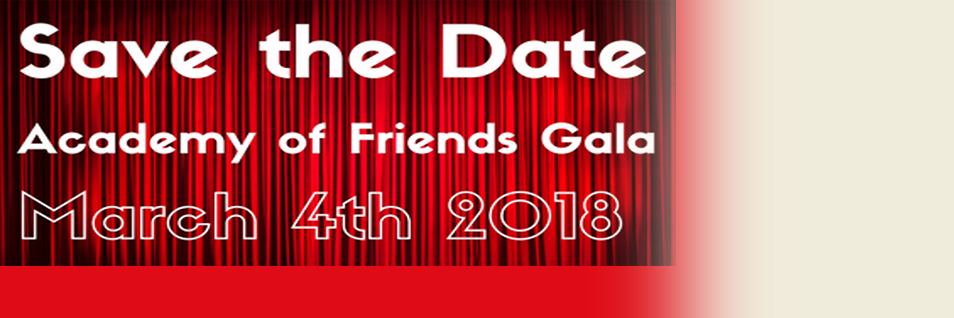 Don't Miss the 2018 Academy of Friends Gala