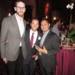 Scott Wiener, Ryan, and friend (L to R)