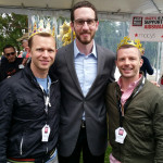 Vince, Scott Wiener, and Jeff