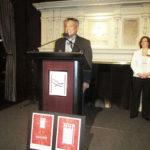 Vince Cristosomo at the podium